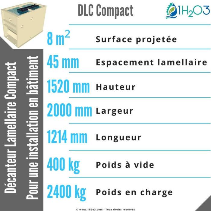 DLC compact 8 m² 1H2O3