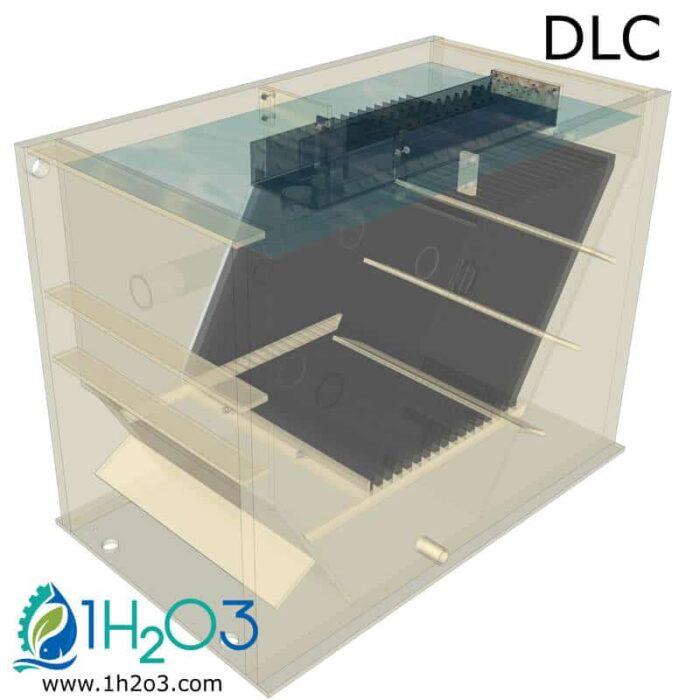 Compact Lamella clarifier DLC - TRANSPARENCY 1h2o3