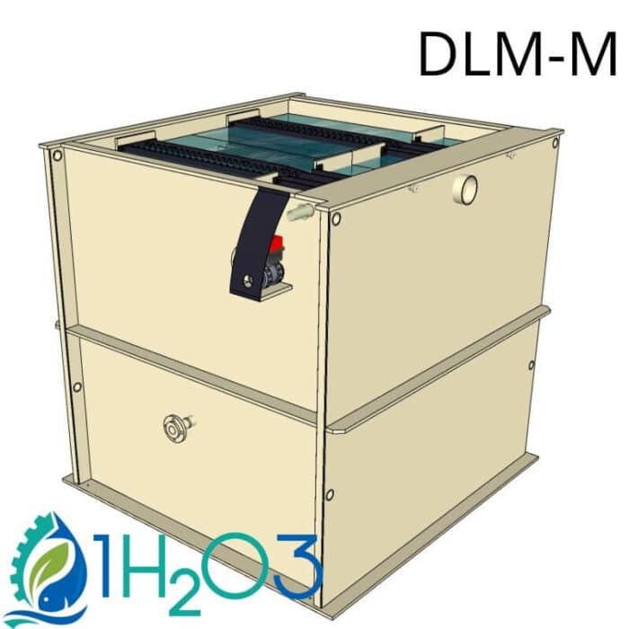 Décanteur lamellaire monobloc M - DLM-M 1h2o3