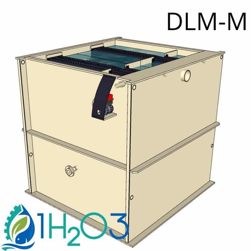 Plastic decanter 24m2 DL24