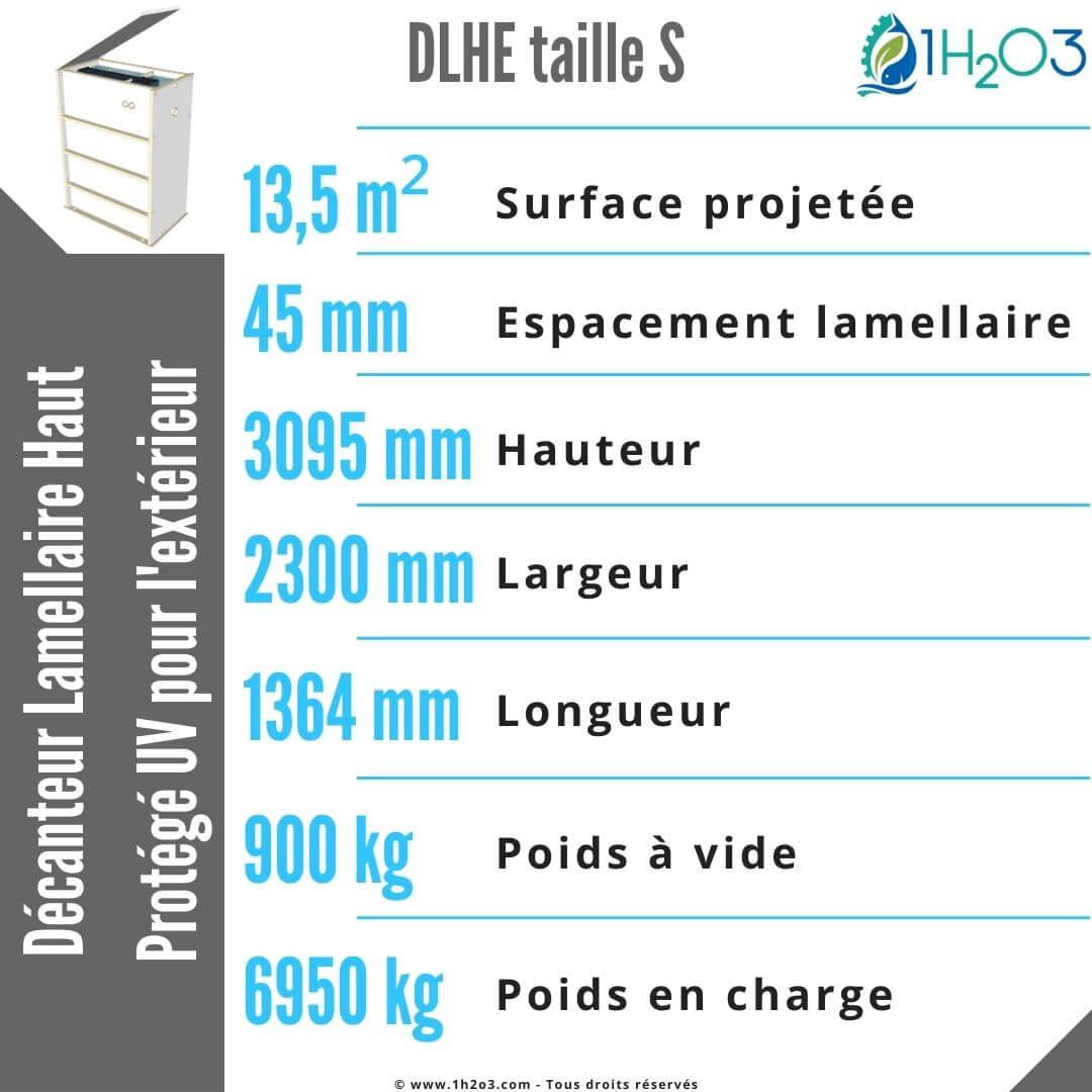 DLHE-S 13,5 m² 1h2o3