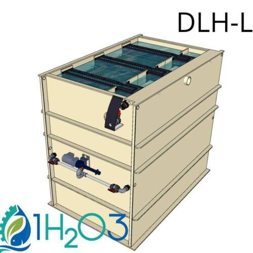Décanteur lamellaire HAUT DLH-L - 800X800 1H2O3