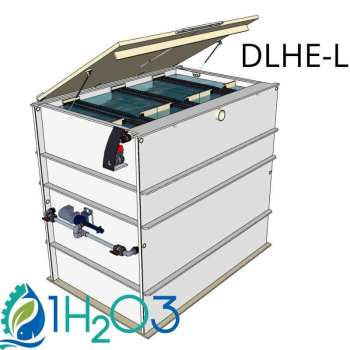 Décanteur lamellaire HAUT DLHE-L - 800X800 1H2O3