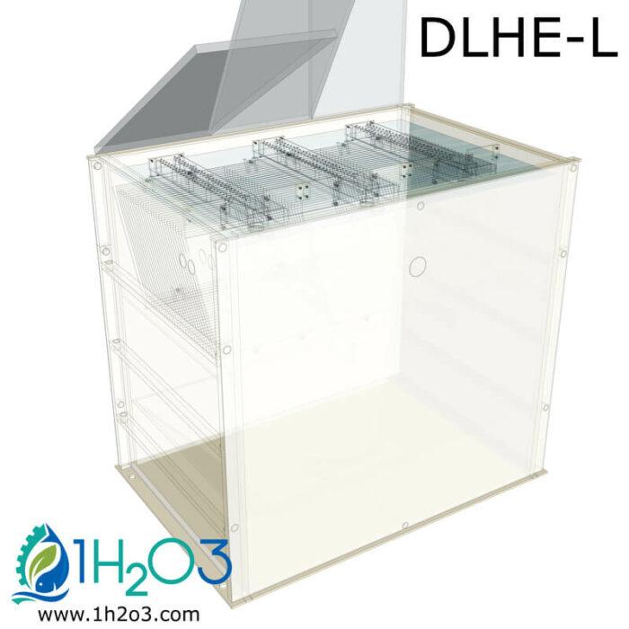 Décanteur lamellaire HAUT DLHE-L - transparence 1H2O3