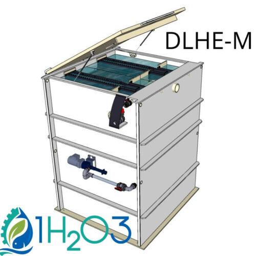 Décanteur lamellaire HAUT DLHE-M - 800X800 1H2O3