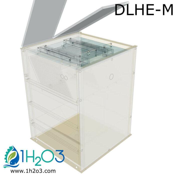 Décanteur lamellaire HAUT DLHE-M - transparence 1H2O3
