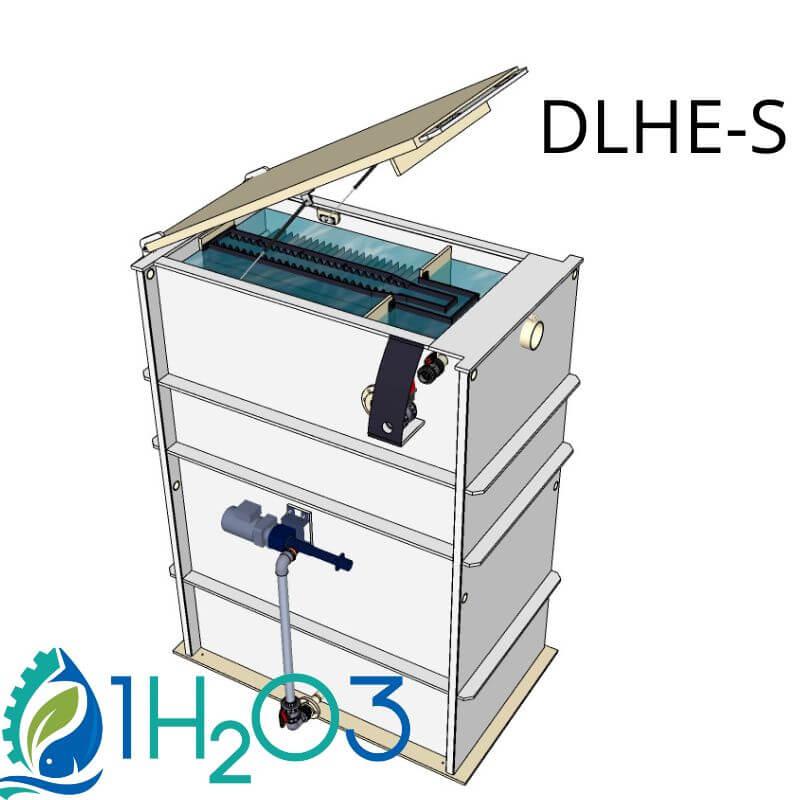 Décanteur lamellaire HAUT DLHE-S - 800X800 1H2O3