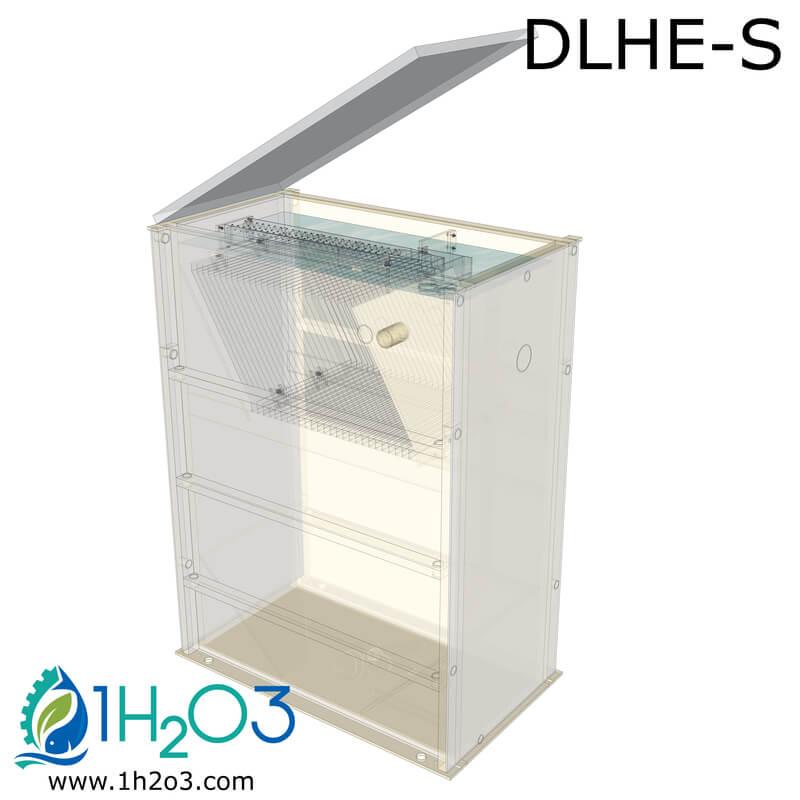 Décanteur lamellaire HAUT DLHE-S - transparence 1H2O3