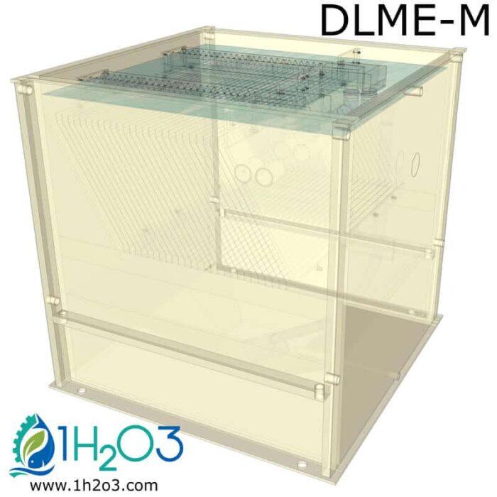 Décanteur lamellaire monobloc DLME-M - transparence 1H2O3