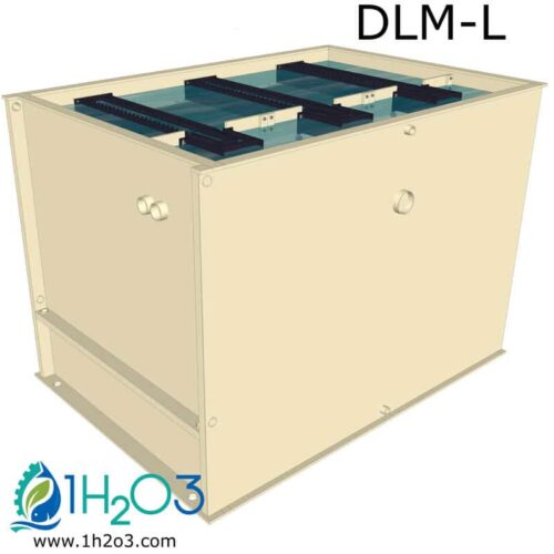 Décanteur lamellaire monobloc L - DLM-L 1H2O3