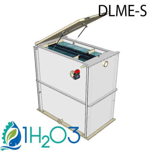 Décanteur lamellaire monobloc extérieur S - DLME-S 1h2o3