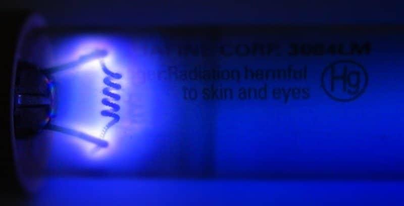 désinfection germicidal uv disinfection tube glow dimensionnement de réacteurs UV 1h2o3