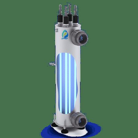 composants d'un système UV réacteur UVC 1h2o3