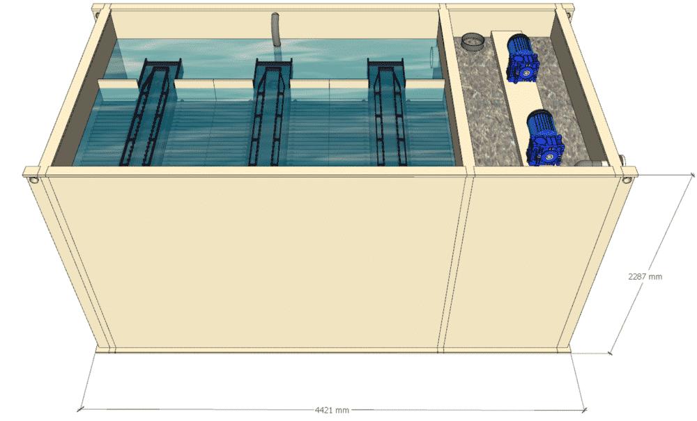 fabrication sur mesure coagulation floculation 1h2o3