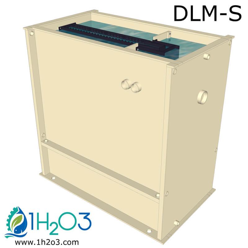Décanteur lamellaire monobloc S - DLM-S 800x800 1h2o3