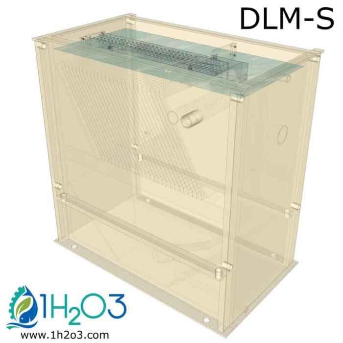 Décanteur lamellaire monobloc S - transparence 800x800 1H2O3