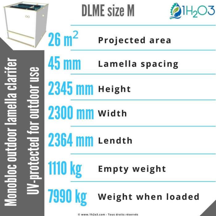 Outdoor-monoblock-lamella-clarifier-M-DLME-M-26-m²-1h2o3
