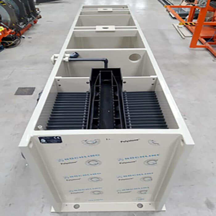 CFC-DLC clarifloculateur compact pour container