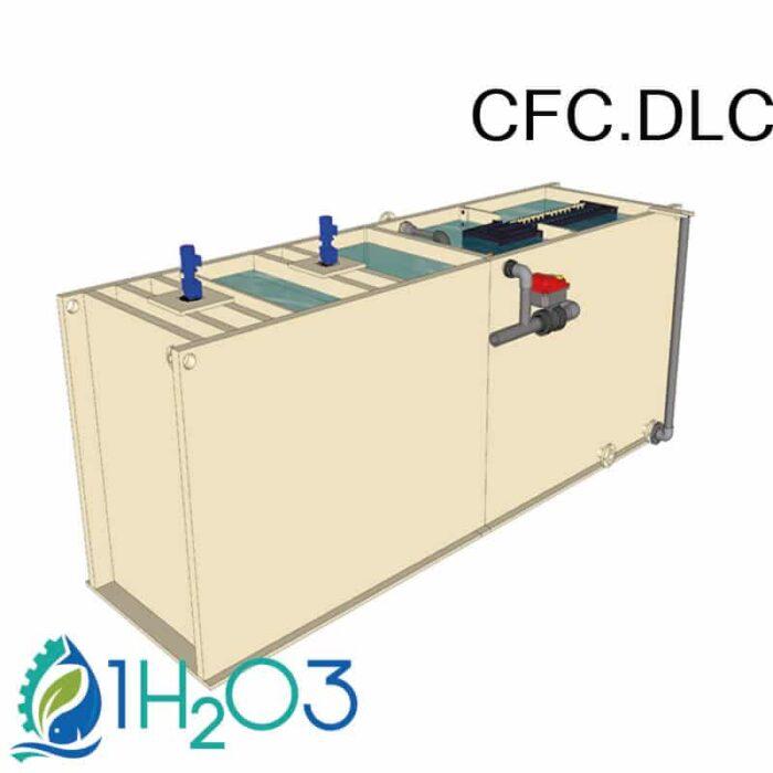 CFC-DLC clarifloculateur compact 1h2o3 toutes options
