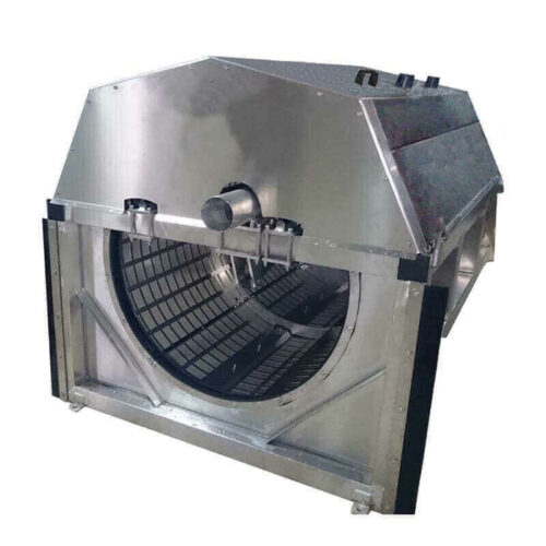 Drum filter aquaculture channel 1h2o3
