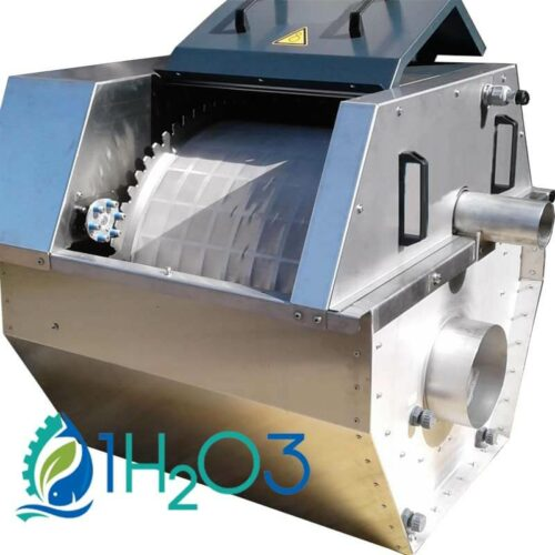 Stainless steel aquaculture filter 1h2o3