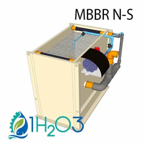 MBBR N-S 1h2o3