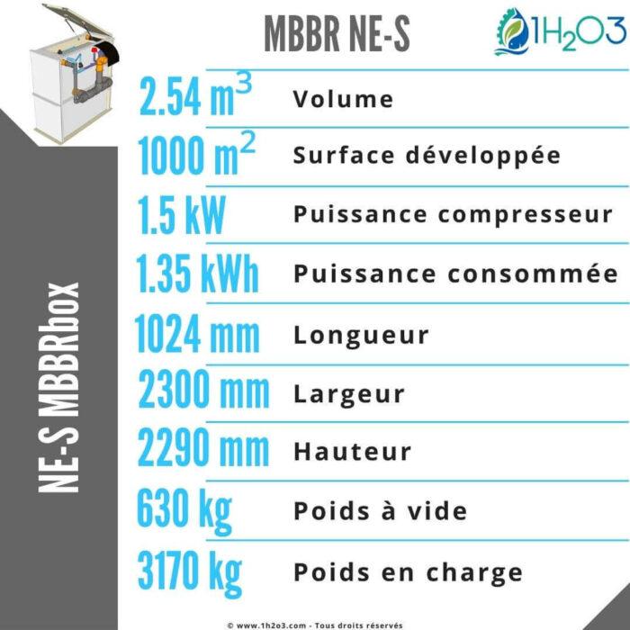 MBBR NE-S fiche technique 1h2o3